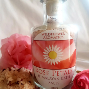Rose petal himalayan bath salts