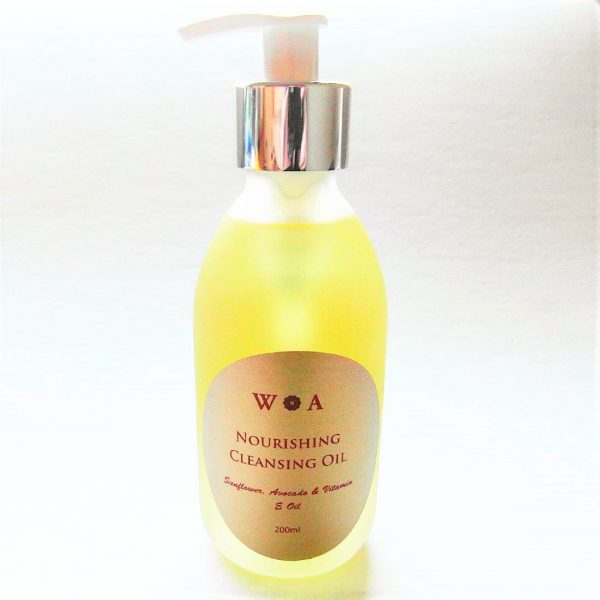 nourishing facial cleansing oil