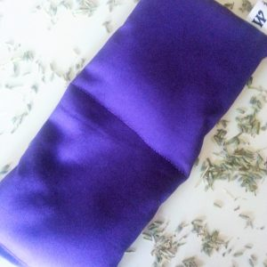 Lavender eye pillow purple